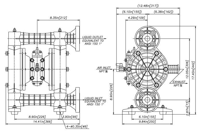 Yamada NDP-25 Series Pumps